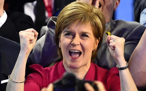 Nữ Thủ hiến đầu tiên của Scotland, bà Nicola Sturgeon