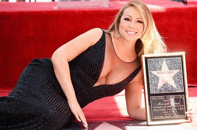 Mariah Carey mũm mĩm khi chưa giảm cân
