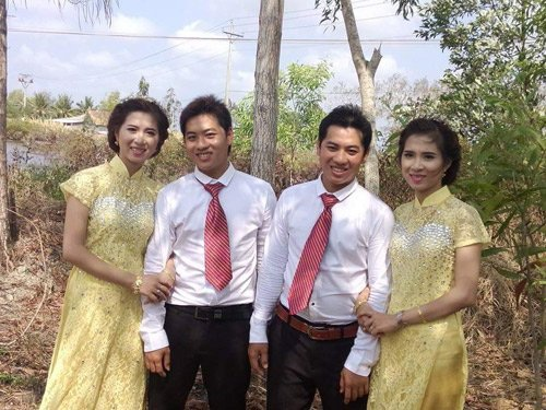 Lễ cưới được tổ chức cách đây 4 ngày tại Cà Mau