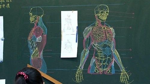 """Dân mạng """"phát cuồng"""" với thầy giáo đẹp trai, vẽ đẹp - 2"""