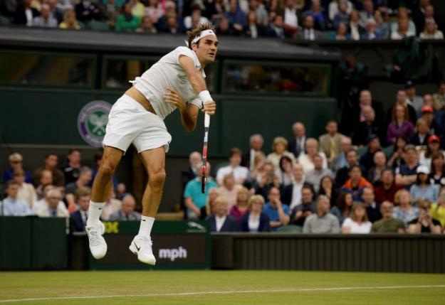 Federer đã có chiến thắng 81 tại Wimbledon