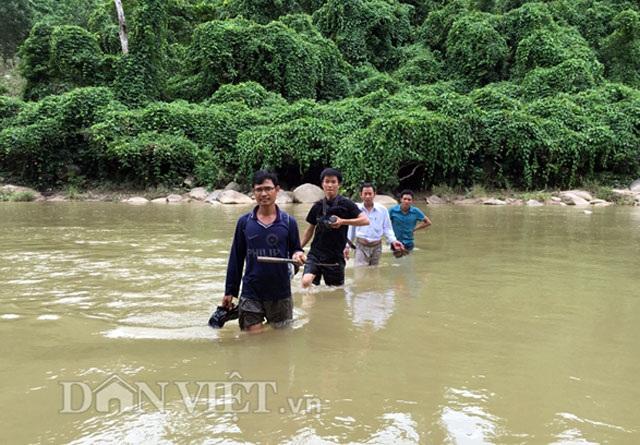 Vượt sông vào vùng đảng sâm