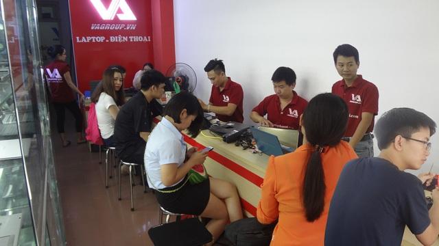 VAGROUP - Địa chỉ sửa laptop uy tín tại Hà Nội - 2