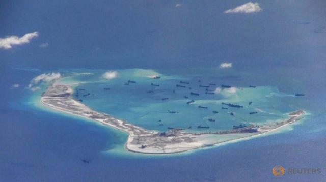 Tòa trọng tài quốc tế đã bác yêu sách đường lưỡi bò của Trung Quốc ở Biển Đông. (Ảnh: Reuters)
