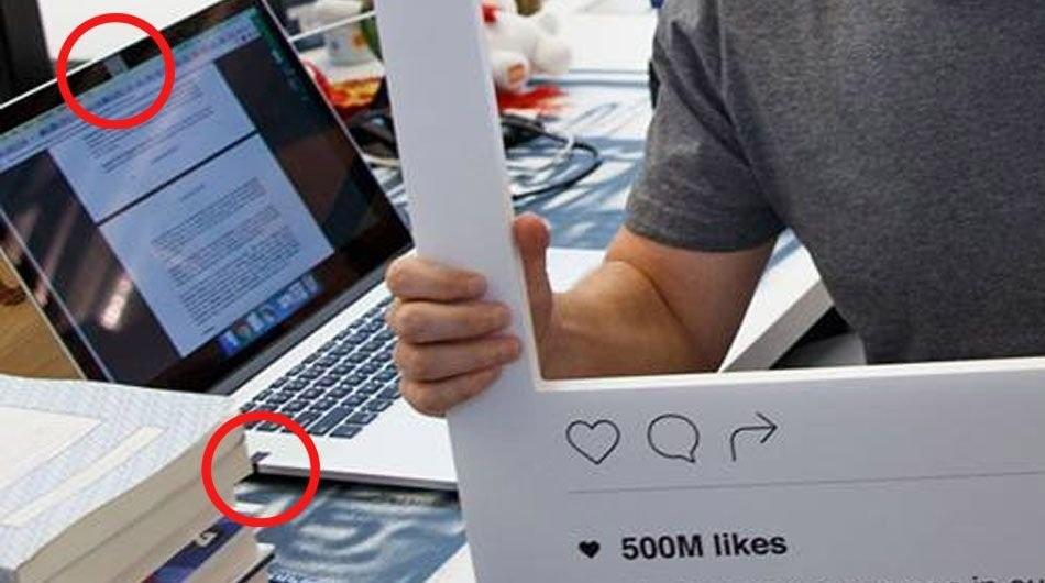 CEO Facebook vô tình để lộ mẹo bảo mật thô sơ - 2