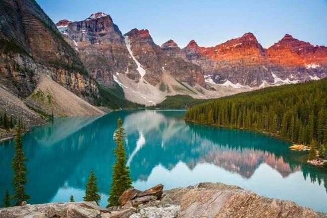 Công viên quốc gia Banff. (Nguồn: NatGeo)