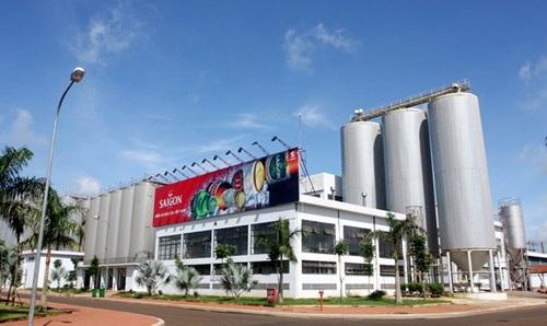 Nhà máy bia Sài Gòn ở miền Trung.