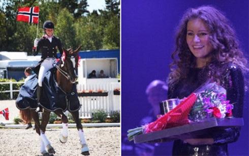  Alexandra Andresen là vận động viên đua ngựa tài năng, từng chiến thắng nhiều giải lớn