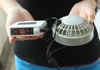 Chỉ cần bỏ vài trăm nghìn mua thiết bị quạt là có thể tự chế sản phẩm điều hòa