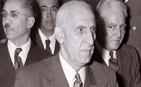 Thủ tướng  Iran Mossadeq bị CIA lật đổ (Ảnh: Corbis)