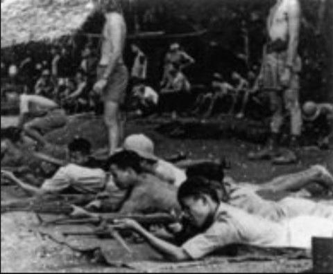 Nhóm Con nai huấn luyện du kích Việt Minh