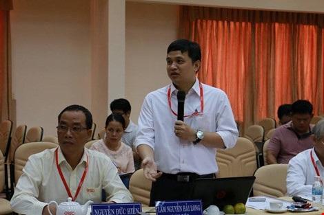 Ông Lâm Nguyễn Hải Long - Giám đốc Công viên phần mềm Quang Trung.