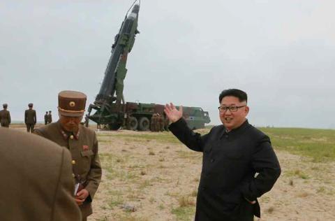 Nhà lãnh đạo Kim Jong-un có mặt tại thực địa