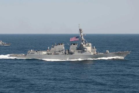 Chiến hạm USS Lassen của Mỹ tham gia tuần tra trên Biển Đông