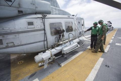 Hệ thống tác chiến điện tử AN/ALQ-231 Intrepid Tiger II. Ảnh: US Navy