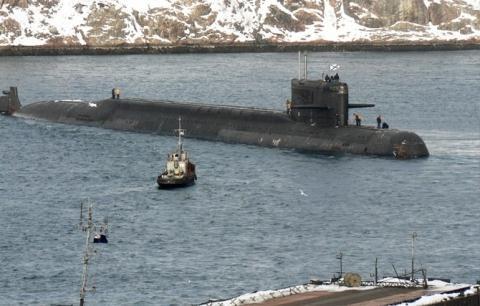 Tàu ngầm hạt nhân Losharik.