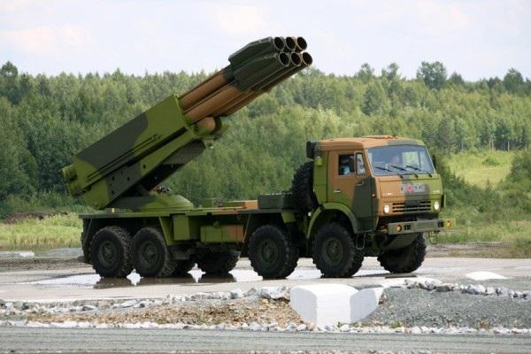 Tổ hợp pháo phản lực phóng loạt Smerch