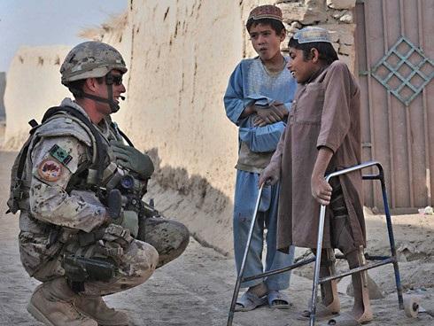 Binh sĩ Canada tại Afghanistan. Ảnh: Canadian Forces