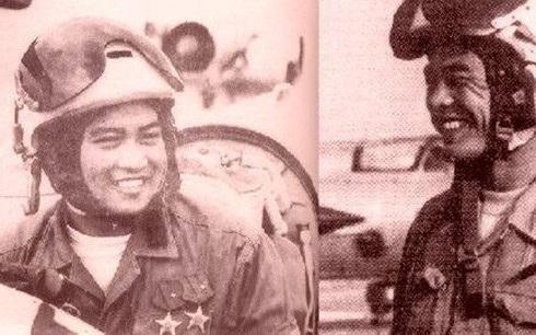 Các phi công Việt Nam trong cuộc kháng chiến chống Mỹ. Ảnh tư liệu của Việt Nam.