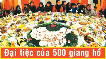 Đại tiệc 500 giang hồ đón đại ca Đ.Đ (minh họa).