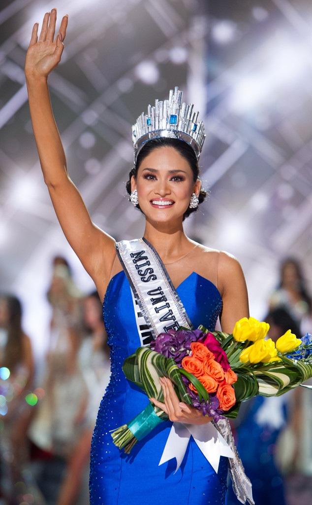 Pia Wurtzbach đăng quang Hoa hậu Hoàn vũ 2015 vào ngày 20/12/2015.