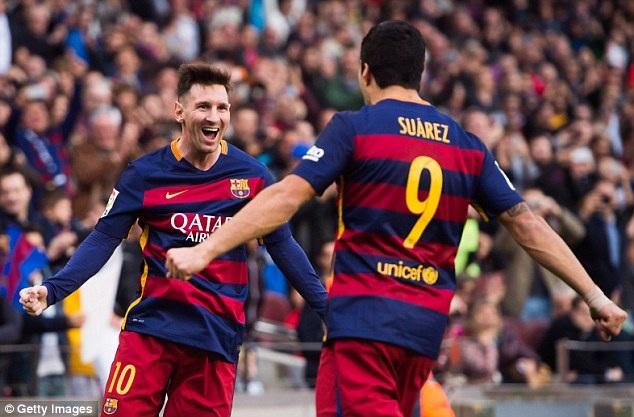 Barcelona đang chờ đợi nhiều vào sự thăng hoa của Messi và Suarez