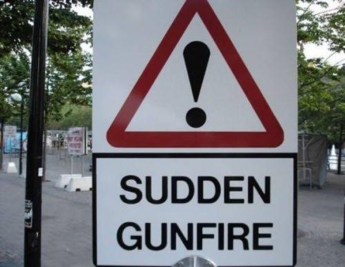 Đấu súng có thể xảy ra bất cứ lúc nào.