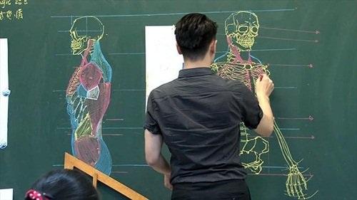 """Dân mạng """"phát cuồng"""" với thầy giáo đẹp trai, vẽ đẹp - 3"""