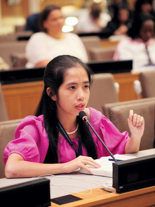 Cô gái từ chối Liên Hiệp Quốc để tự mình khởi nghiệp - 3