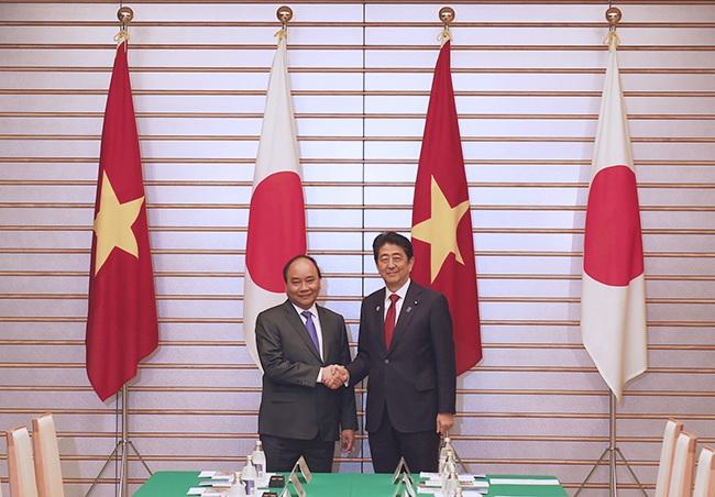 Hai Thủ tướng Việt Nam, Nhật Bản hội đàm - 3