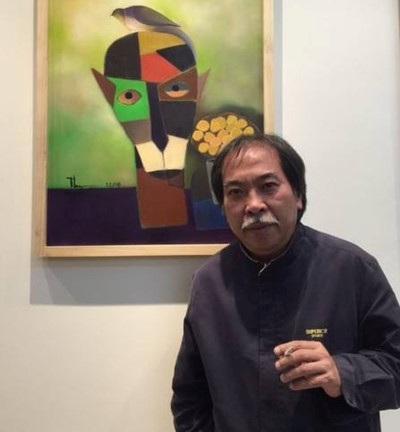 Nhà thơ Nguyễn Quang Thiều. Ảnh: Facebook của nhà thơ.