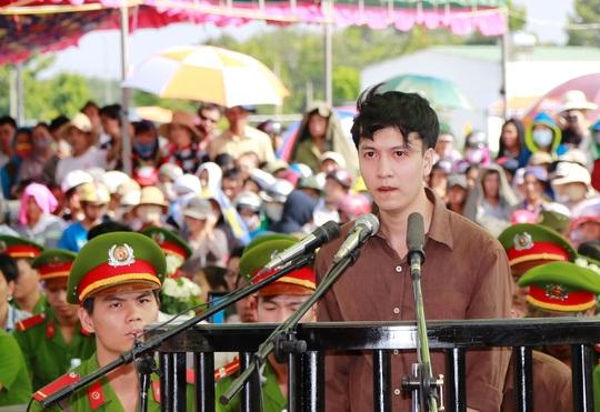 Bị cáo Nguyễn Hải Dương, hung thủ chính trong vụ thảm sát ở Bình Phước gây chấn động dư luận năm 2015.