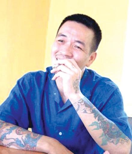 """Nguyễn Tuấn Hải (Hải """"bánh"""") - người tổ chức thanh toán đàn chị Dung Hà."""