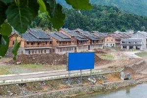 Một khu nghỉ dưỡng đang được xây dựng tại Quý Châu