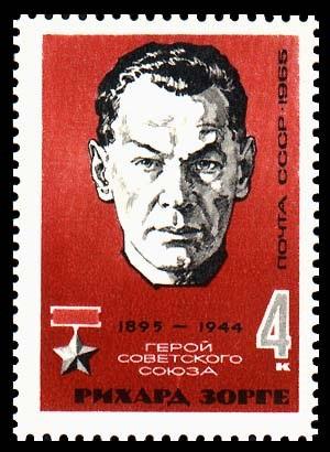Con tem sau này của Liên Xô tôn vinh điệp viên Richard Sorge. Ảnh: ExecutedToday.