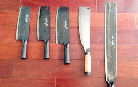 Sản phẩm dao, búa… của người Nùng An ở Phúc Sen trở thành một thương hiệu nức tiếng.