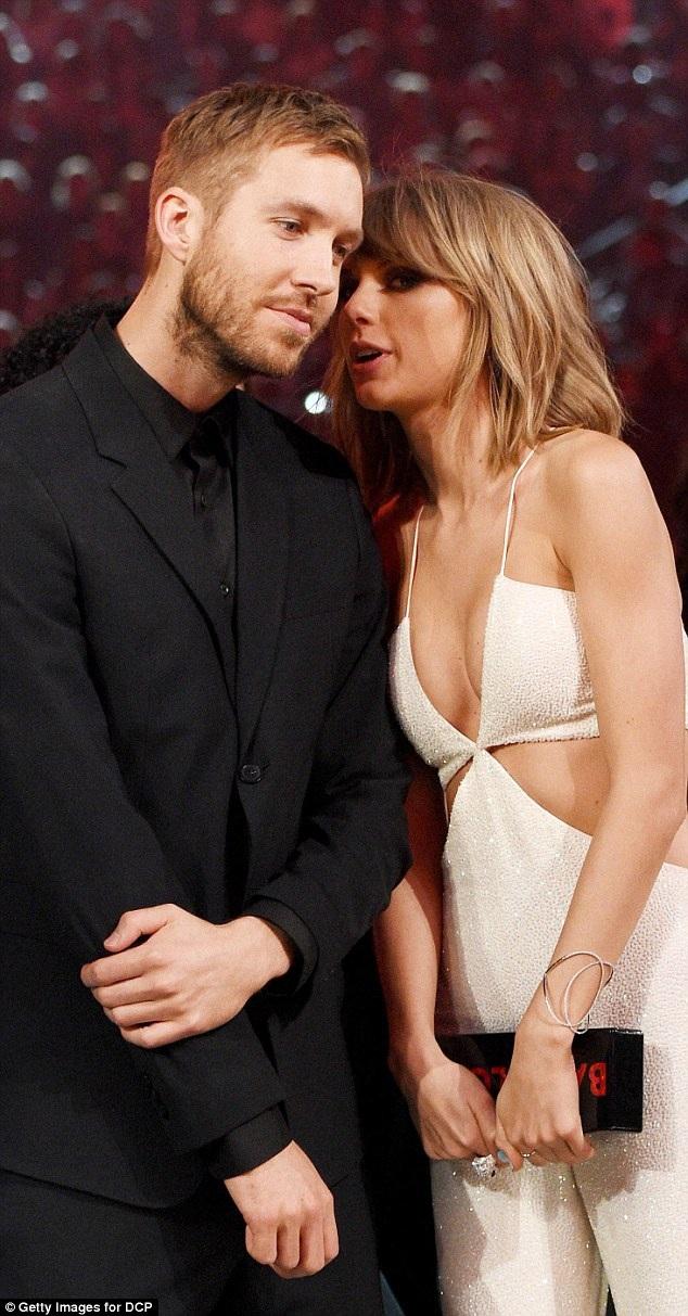 Calvin Harris chỉ trích Taylor Swift là người bị đặt.