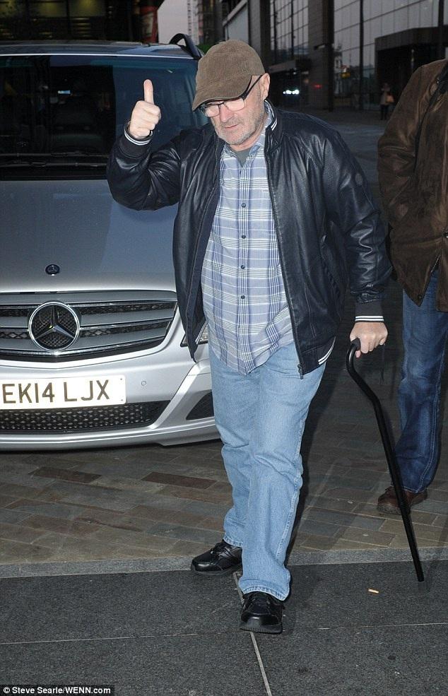 Năm ngoái, Phil Colllin, hiện 64 tuổi, tuyên bố ông sẽ trở lại với âm nhạc, phát hành album mới và đi tour.
