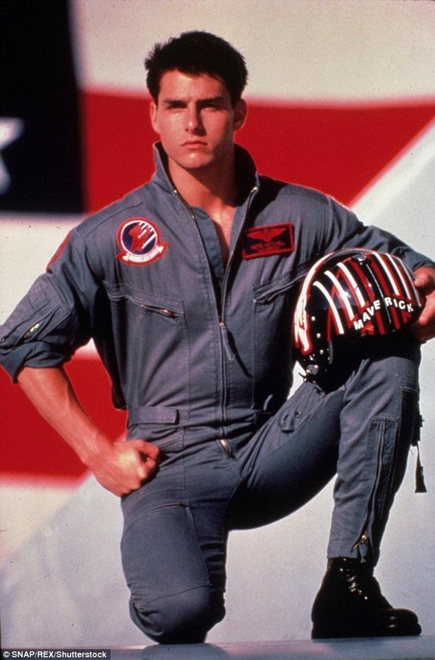 Năm 1986, Tom Cruise từng vào vai Maverick, một phi công giỏi và điển trai trong bộ phim Top Gun.
