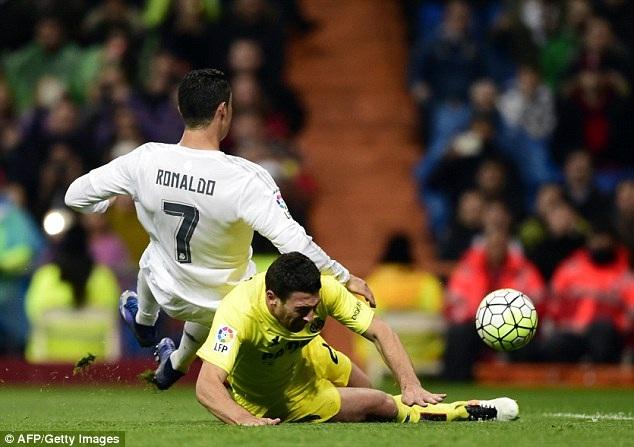 C.Ronalod không thể ghi bàn ở trận gặp Villarreal