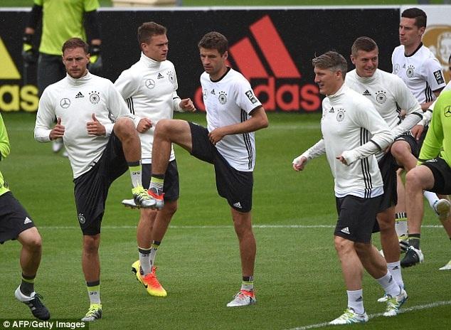 Giám đốc kỹ thuật Gede đánh giá rất cao Mueller của đội tuyển Đức