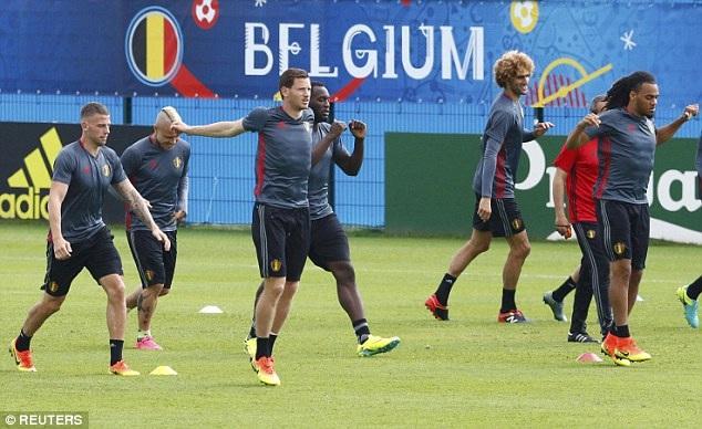 Bỉ đang sở hữu dàn cầu thủ đầy xuất sắc