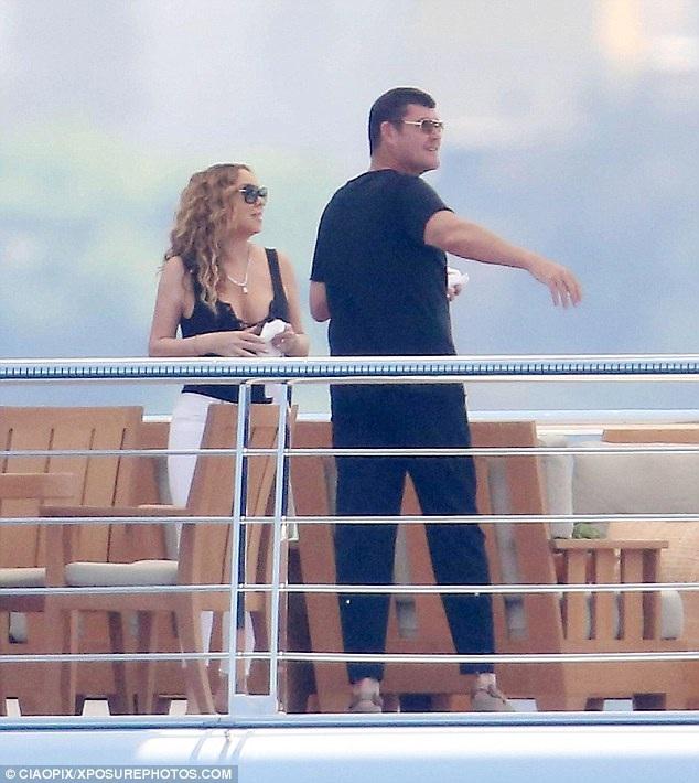 Mariah Carey quấn quýt không rời tỉ phú người Úc - 7