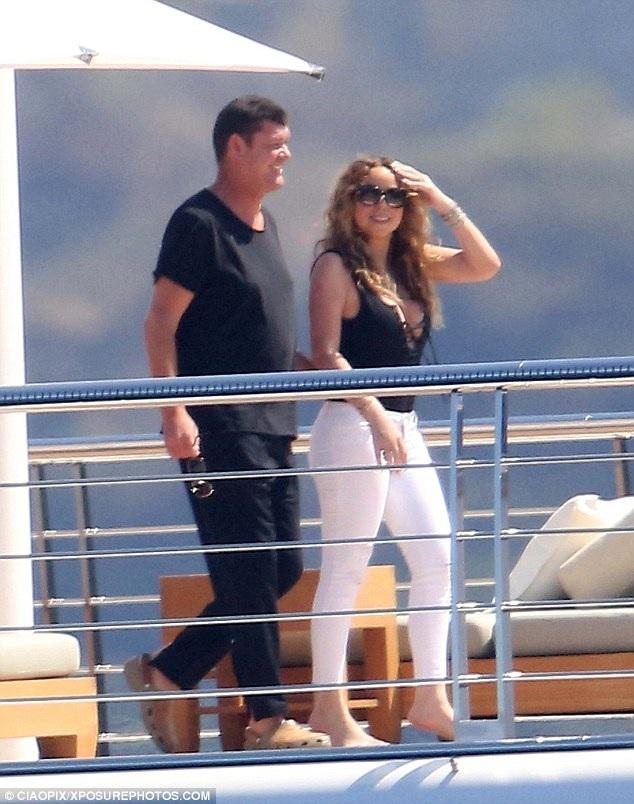 Mariah được James cầu hôn bằng nhẫn kim cương trị giá 7,5 triệu USD