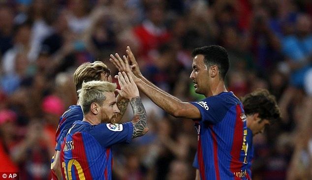 Barcelona đang dần lấy lại được sức mạnh sau những sự khởi đầu chệch choạc