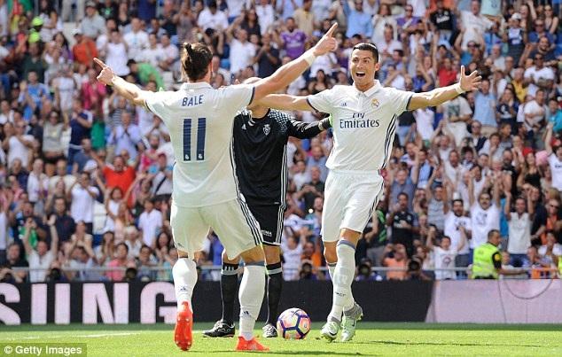 Real Madrid đang đạt phong độ cao tại La Liga