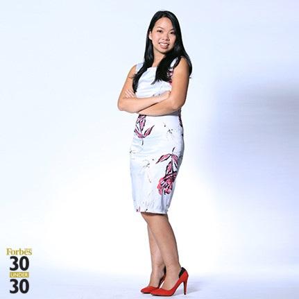 Sau khi hoàn tất du học, Ngọc Tú trở về khởi nghiệp tại Việt Nam. (ảnh Forbes VN)