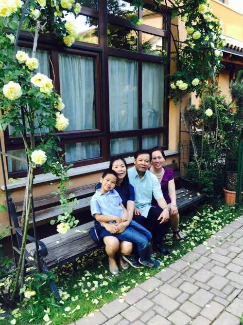 Bù lại, chị và gia đình luôn có những phút giây thảnh thơi và bình yên bên khu vườn đẹp