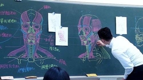 """Dân mạng """"phát cuồng"""" với thầy giáo đẹp trai, vẽ đẹp - 4"""