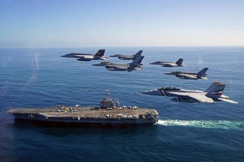 Cuộc tập trận tàu sân bay mang tên UNITAS 2015